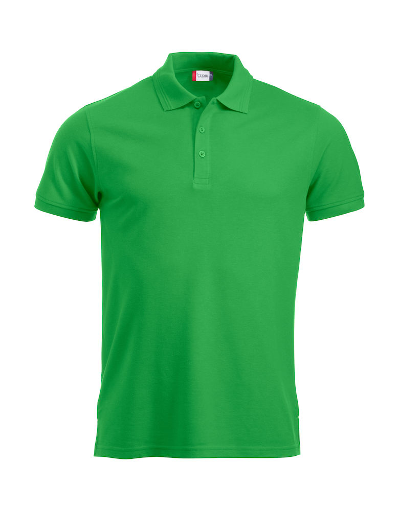 Classic polo polyester/katoen apple green
