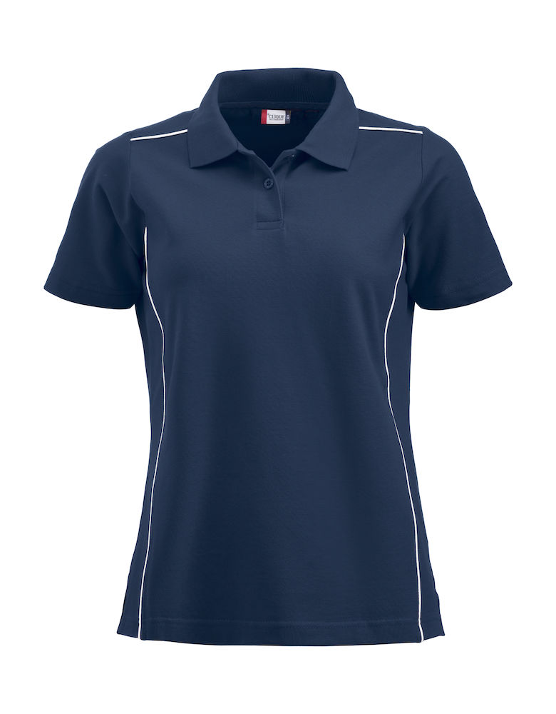 Classic new alpena dames polo navy