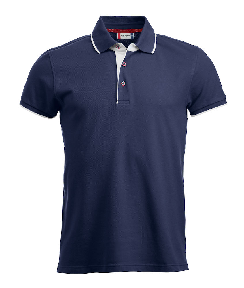 Basic seattle polo Dark Navy