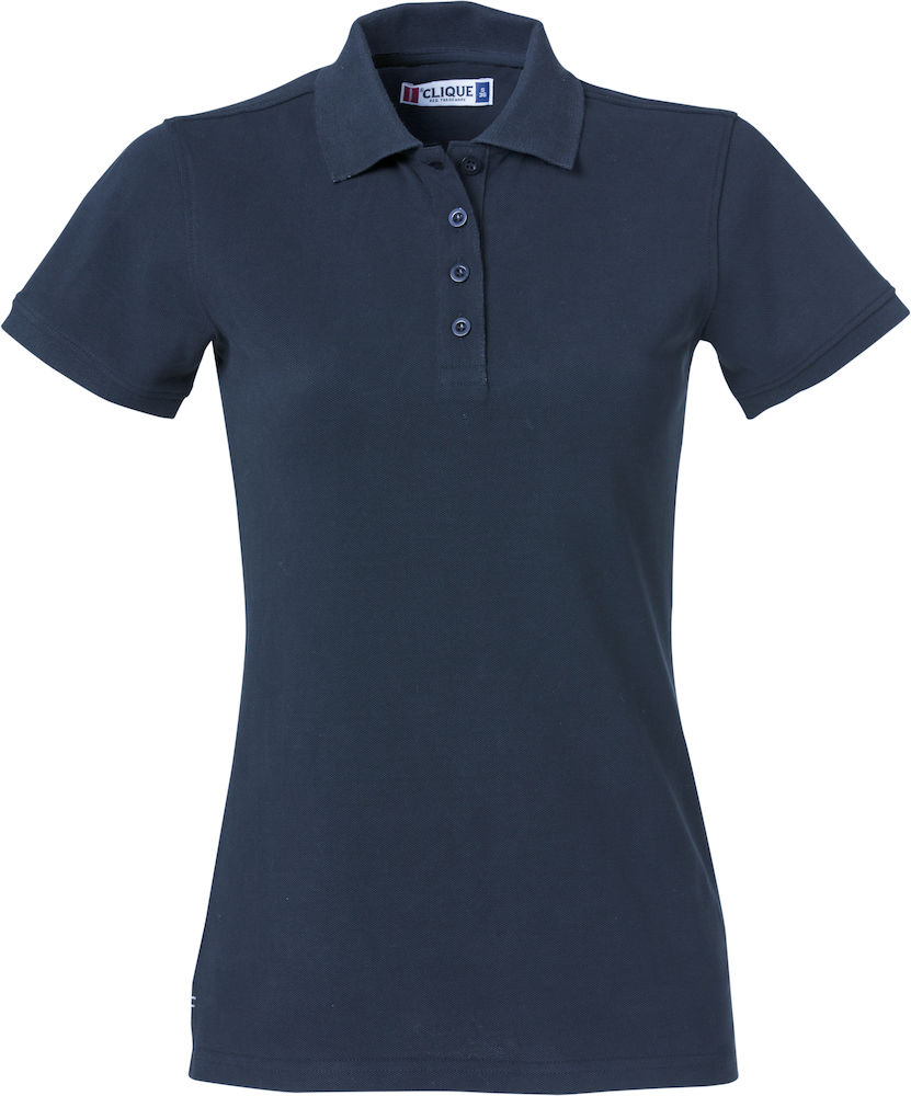 Premium dames polo navy