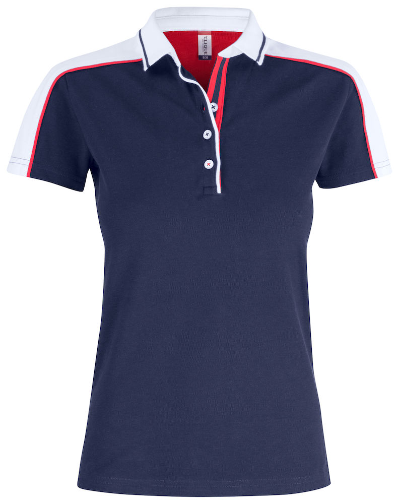 Classic pittsford dames polo navy