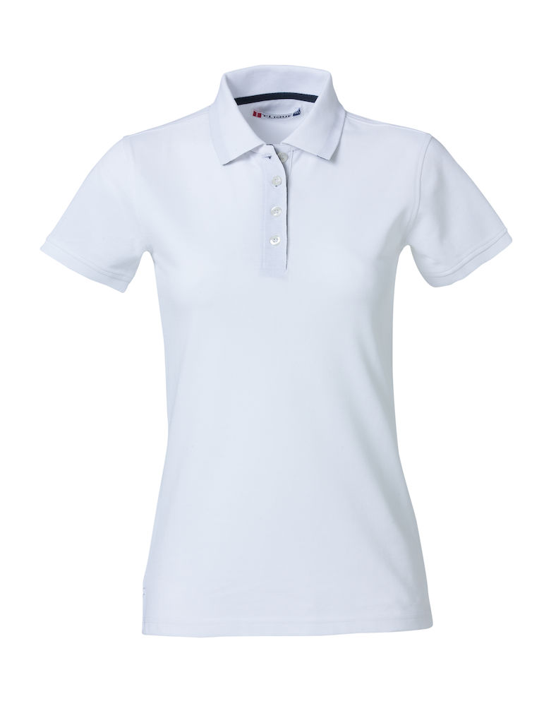 Premium dames polo wit