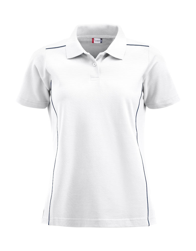 Classic new alpena dames polo wit