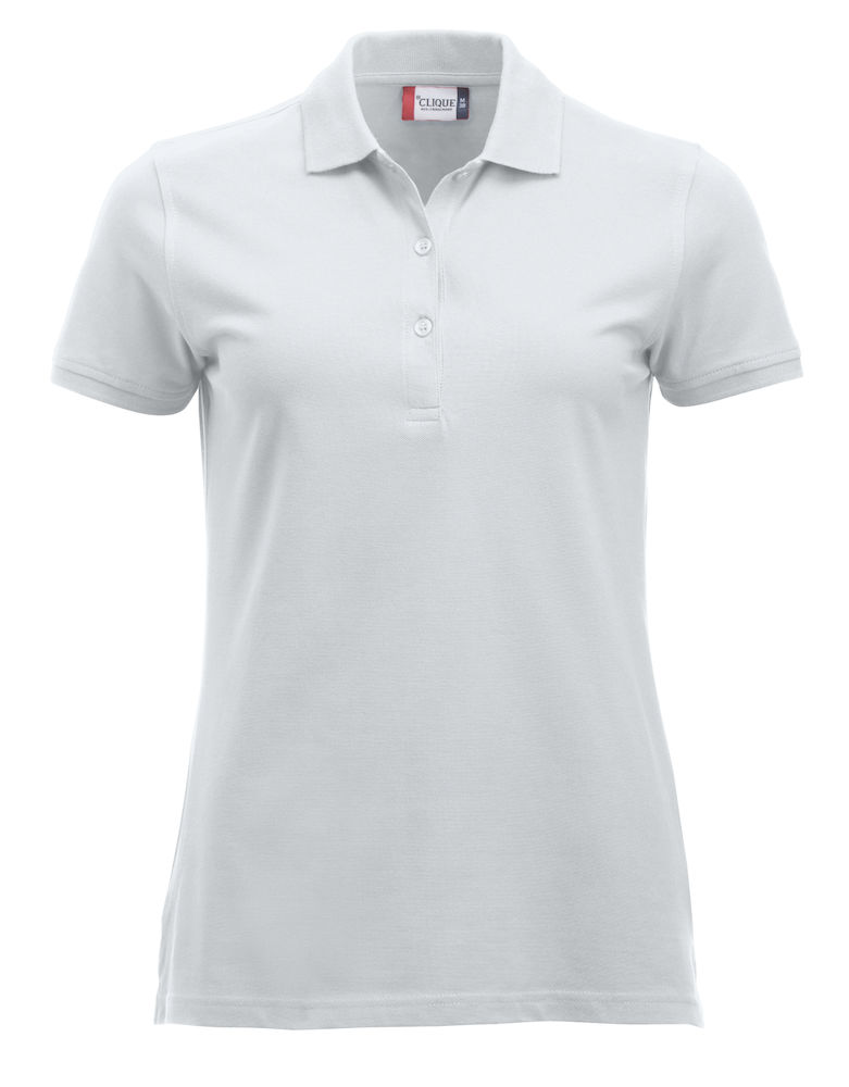 Classic dames polo wit